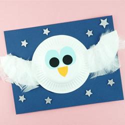 万圣节猫头鹰的制作方法 超萌白色小精灵!