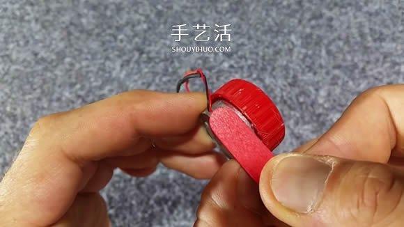 自制电动马达三轮车玩具的科技小制作教程 -  www.shouyihuo.com