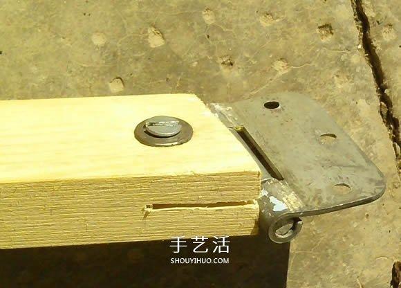 自制木质平衡自行车的制作方法教程 -  www.shouyihuo.com
