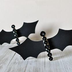 幼儿园手工制作万圣节蝙蝠的教程简单又可爱