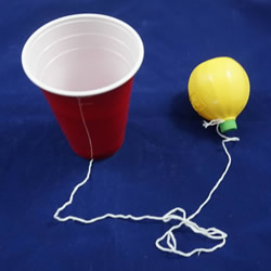 自制幼儿园简易接球玩具的制作方法教程