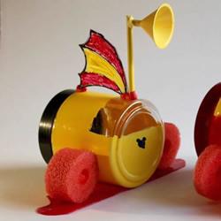 塑料瓶废物利用DIY制作儿童潜水艇玩具