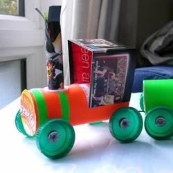 自制卷纸筒火车的制作方法详细图解教程