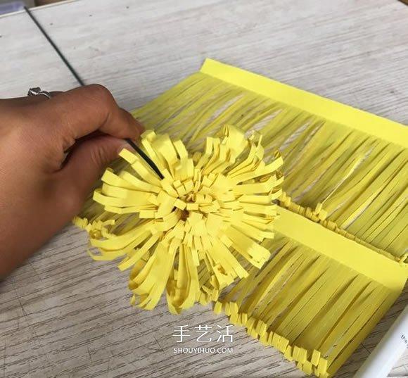 重阳节大菊花的制作方法 简单又美丽! -  www.shouyihuo.com