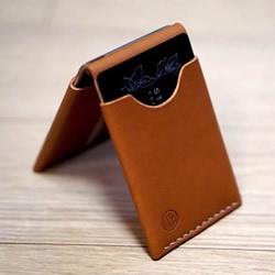 自制男士双折皮革钱包的详细制作步骤图