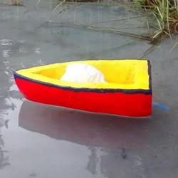 小学生简单手工制作气球动力船的方法教程