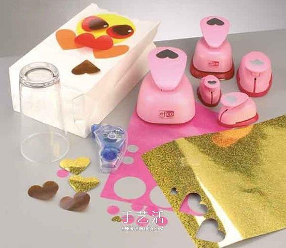 纸袋简单手工制作万圣节猫头鹰灯笼的方法 -  www.shouyihuo.com