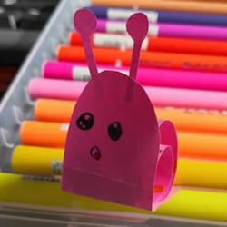 幼儿园手工纸蜗牛的制作方法简单又可爱