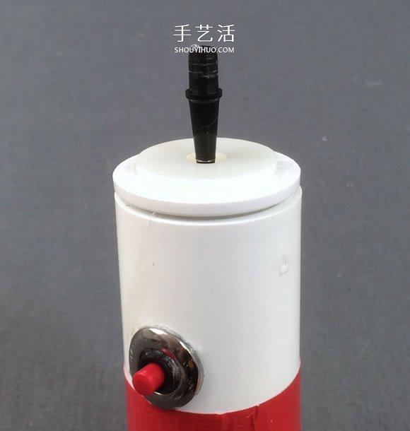 自制电动飞行竹蜻蜓的制作方法详细图解教程 -  www.shouyihuo.com