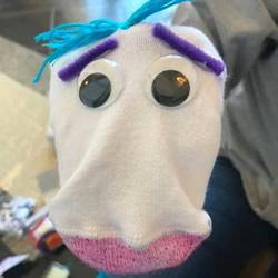 袜子手工制作手偶玩具 用它表演木偶戏!