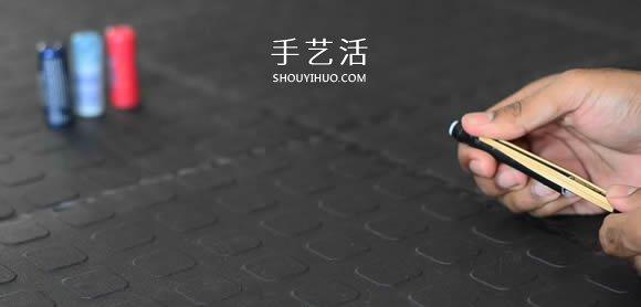 自制笔管玩具枪的超简单做法图解教程 -  www.shouyihuo.com