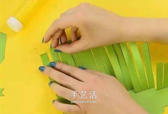 幼兒園手工製作卡紙鱷魚的方法 簡單又好玩!