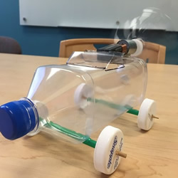 自制电动风力车玩具的制作方法教程