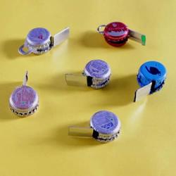 自制口哨的方法图解 只需啤酒瓶盖和易拉罐!