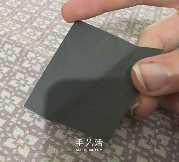 最簡單紙心的折法圖解 幾秒鐘就搞定!