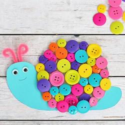 幼儿园手工制作蜗牛的简单方法教程