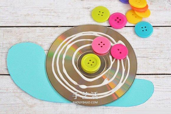 幼兒園手工製作蝸牛的簡單方法教程