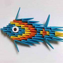 简单又可爱的三角插小鱼的制作方法图解