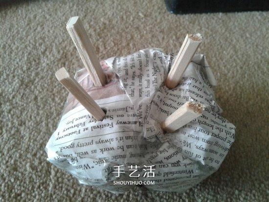 幼儿园手工制作绵羊的简单方法教程 -  www.shouyihuo.com