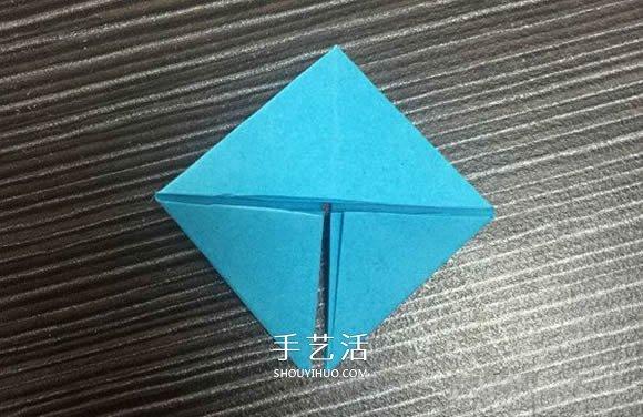 简单又可爱的三角插小鱼的制作方法图解 -  www.shouyihuo.com