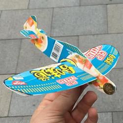方便面盒废物利用 手工制作滑翔机的方法