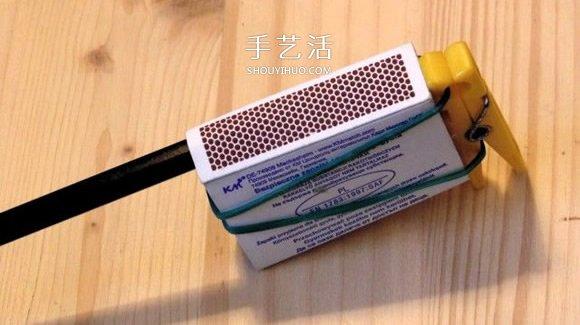 橡皮筋枪怎么做 简单手工教程学起来! -  www.shouyihuo.com