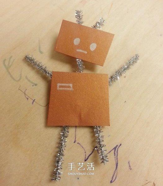 自制跳舞机器人的方法 一个凸轮就搞定! -  www.shouyihuo.com