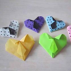 领带爱心的折法图解教程
