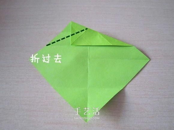 领带爱心的折法图解教程 -  www.shouyihuo.com
