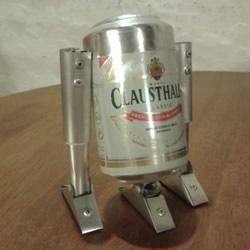 易拉罐DIY制作星球大战R2-D2机器人的方法