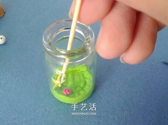 自制粘土卡通瓶的方法 -  www.shouyihuo.com