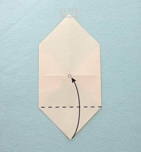 可爱卡通风格小鸟的折纸方法图解 -  www.shouyihuo.com