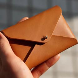 自制简约皮革名片盒的方法图解教程