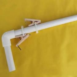 PVC管手工制作橡皮筋枪图解教程