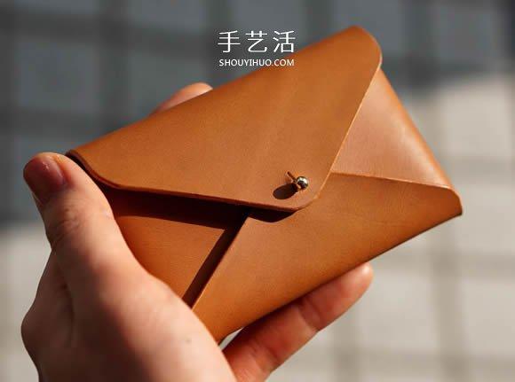 自制简约皮革名片盒的方法图解教程 -  www.shouyihuo.com