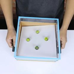 瓦楞纸板手工制作平衡棋盘玩具教程
