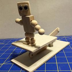自制会跳舞的木偶玩具图解教程