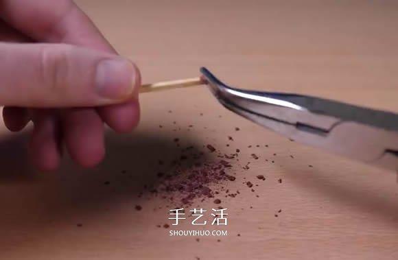 自制纸做大炮玩具的方法图解教程 -  www.shouyihuo.com