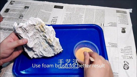 DIY玻璃景观装饰品的详细图解步骤 -  www.shouyihuo.com