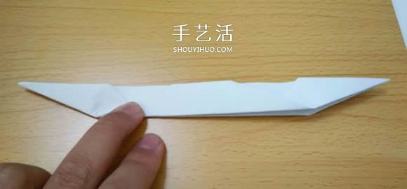 折纸乌篷船的方法图解教程 -  www.shouyihuo.com