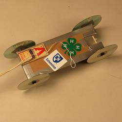 捕鼠夹手工制作可以跑动的玩具汽车