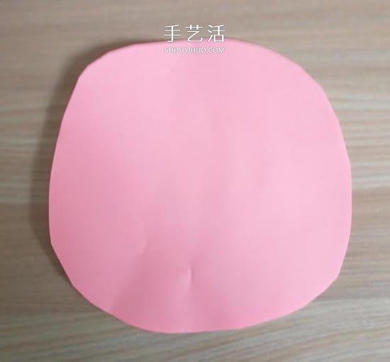 简单又漂亮纸玫瑰花的做法图解 -  www.shouyihuo.com