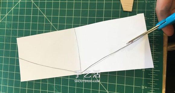 自制轻木滑翔机的制作方法图解 -  www.shouyihuo.com