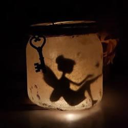 玻璃瓶中的童话-送小女孩的生日礼物DIY