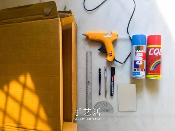 自制简易潜望镜的方法图解教程 -  www.shouyihuo.com