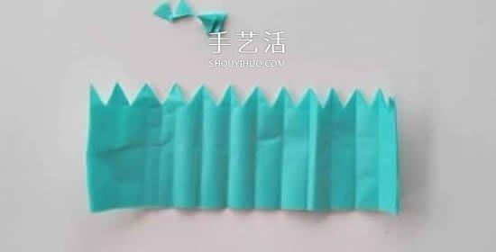 简单的绢纸花手工制作图解教程 -  www.shouyihuo.com