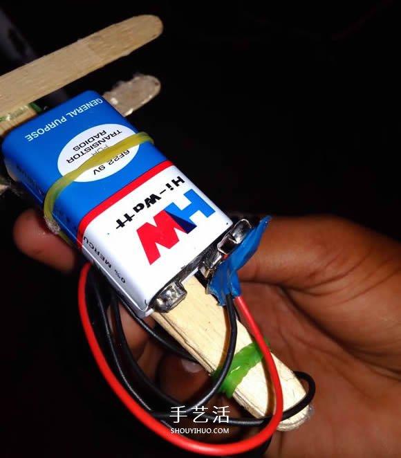 自制电动玩具飞机的方法教程 -  www.shouyihuo.com