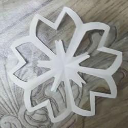 剪纸樱花的折法和剪纸图案