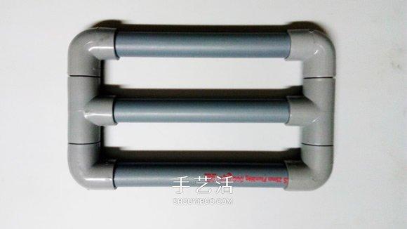 PVC管手工制作小苏打动力玩具车的教程 -  www.shouyihuo.com