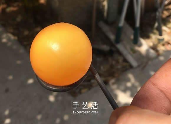自制浮动乒乓球玩具的方法图解教程 -  www.shouyihuo.com